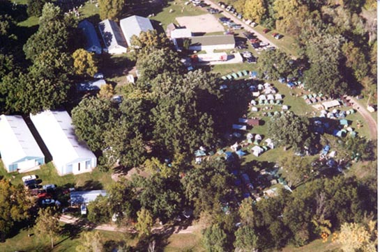 campground from air