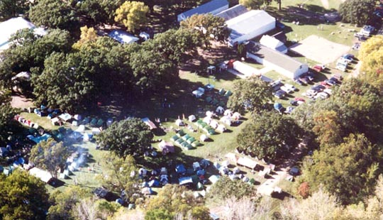Picture of campground from the air